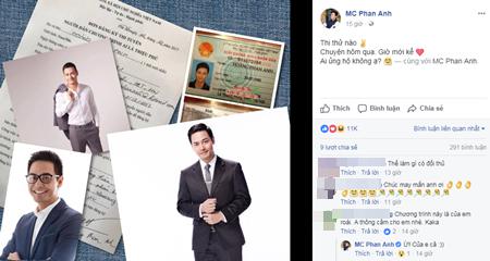 Phan Anh thi tuyển MC Ai là triệu phú thay nhà báo Lại Văn Sâm - Ảnh 1
