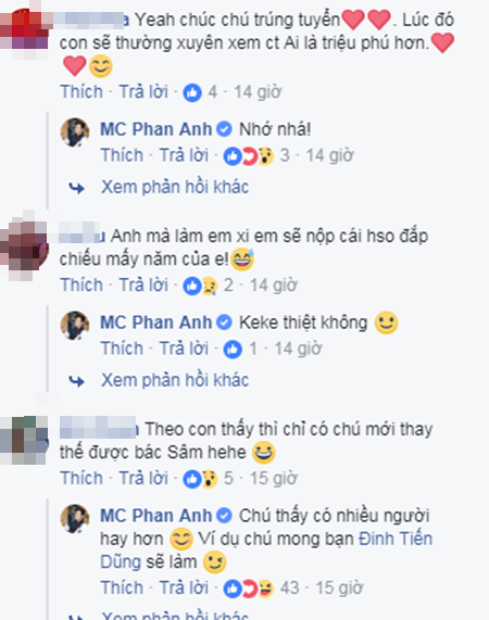 Phan Anh thi tuyển MC Ai là triệu phú thay nhà báo Lại Văn Sâm - Ảnh 2