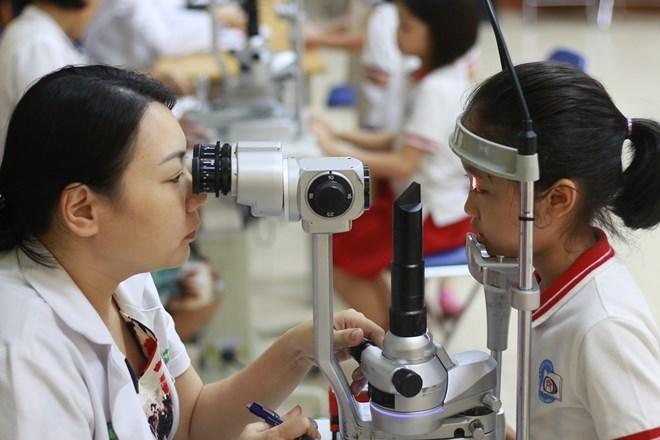Kiểm tra các trung tâm tập mắt, yoga mắt ở Hà Nội - Ảnh 1