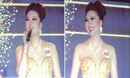 Phi Thanh Vân giải thích về màn diễn thuyết khi thi Hoa hậu - Ảnh 1