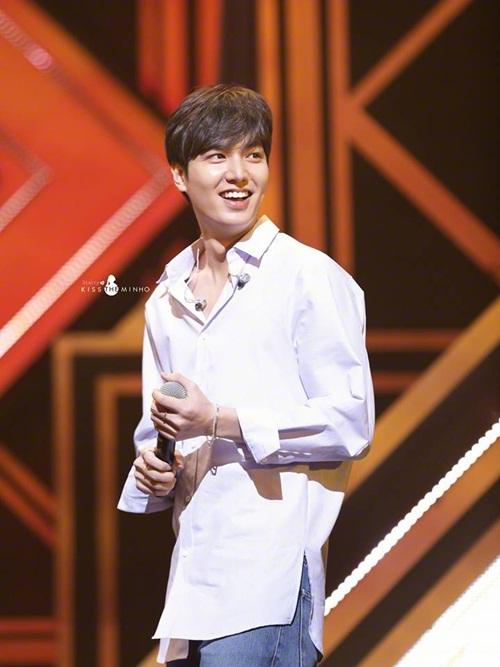 Lee Min Ho chia sẻ về người vợ trong mơ của mình - Ảnh 1