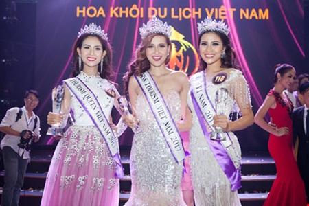 Khánh Ngân The Face đăng quang Hoa khôi Du lịch Việt Nam 2017 - Ảnh 5