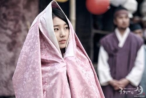 Xao xuyến với tạo hình cổ trang của mỹ nam mỹ nữ xứ Hàn - Ảnh 1