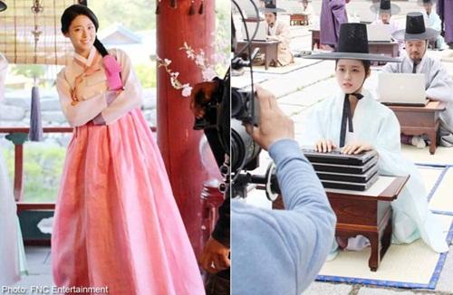 Xao xuyến với tạo hình cổ trang của mỹ nam mỹ nữ xứ Hàn - Ảnh 23