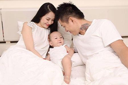 Nhiều nhóc tỳ nhà sao Việt chào đời đầu năm 2017 - Ảnh 9