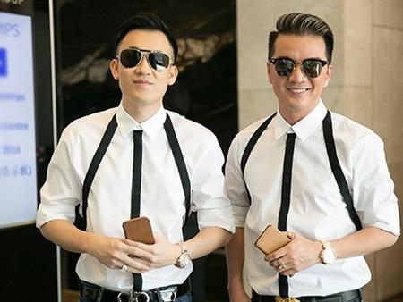 Mr Đàm hạnh phúc khoe được Dương Triệu Vũ tặng nhẫn kim cương - Ảnh 1