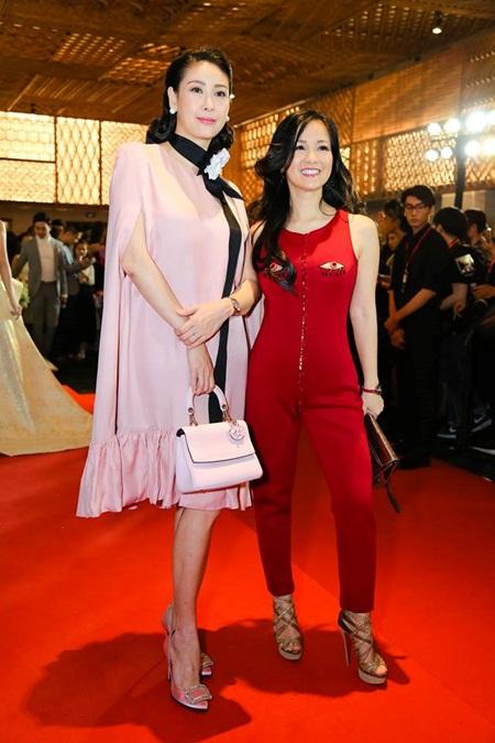 Phạm Hương, Hà Hồ nổi bật trên thảm đỏ tuần lễ thời trang - Ảnh 5