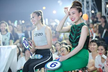 Giang Hồng Ngọc diện jumpsuit nổi bật, rạng rỡ ngồi ghế giám khảo - Ảnh 5