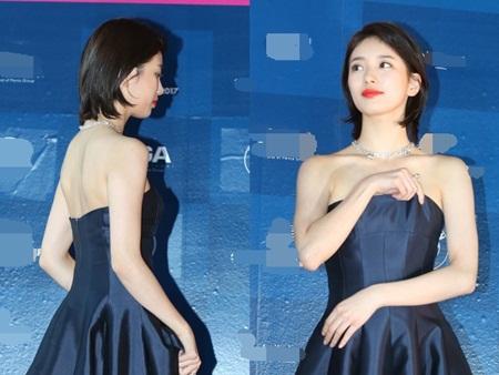 Yoona rực rỡ tỏa sáng, Suzy tóc ngắn vẫn cực kỳ gợi cảm trên thảm đỏ - Ảnh 2