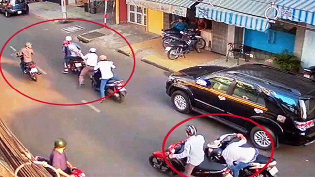Bắt 2 nghi can chuyên dàn cảnh đánh người đi đường gây ra 25 vụ cướp táo tợn - Ảnh 1