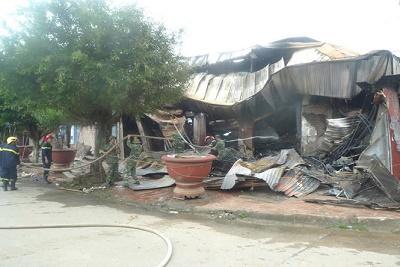 Bác thông tin tiểu thương Trung Quốc thiệt hại trong vụ cháy chợ Tân Thanh - Ảnh 1