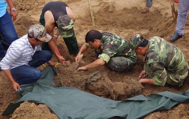 Tìm thấy hài cốt 21 liệt sĩ hy sinh trong trận đánh An Điền tại Bình Dương - Ảnh 2