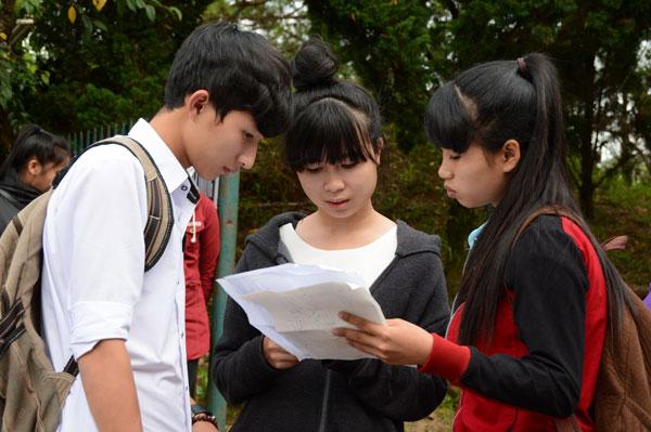 Hàng loạt bài thi ở Lâm Đồng được tăng điểm sau phúc khảo  - Ảnh 1