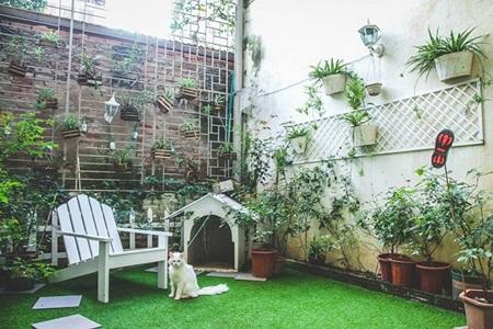 Bình minh trong căn hộ vintage bốn mùa ngập sắc hoa - Ảnh 8