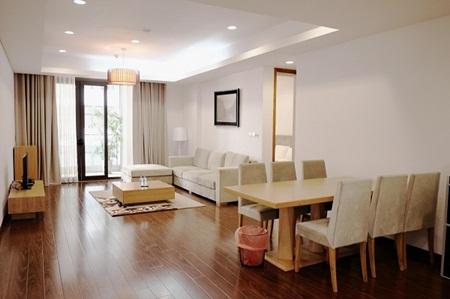 Ngắm căn hộ hiện đại dành riêng cho gia đình nhỏ trên phố Trần Bình - Ảnh 2