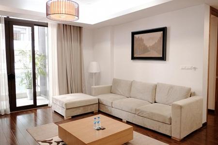 Ngắm căn hộ hiện đại dành riêng cho gia đình nhỏ trên phố Trần Bình - Ảnh 3