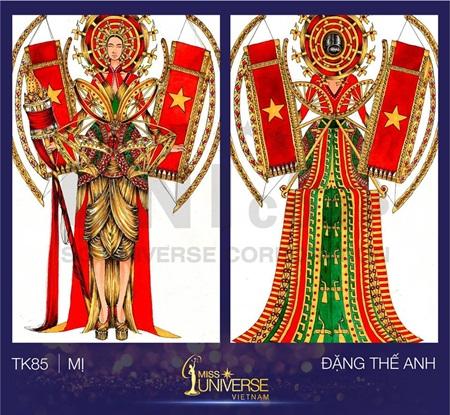 """Công bố Top 15 """"Thiết kế trang phục dân tộc cho đại diện Việt Nam tại Miss Universe"""" - Ảnh 5"""
