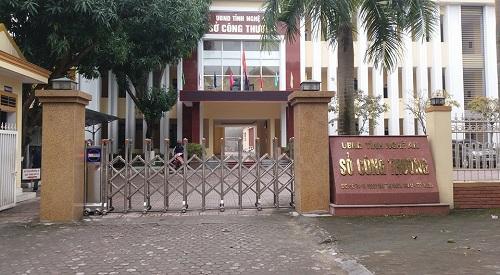 Phòng làm việc của Giám đốc Sở Công Thương Nghệ An bị trộm đột nhập - Ảnh 1
