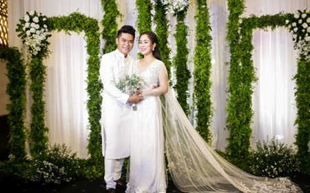 Điểm lại loạt đám cưới đình đám nhất của showbiz Việt năm 2017 - Ảnh 10