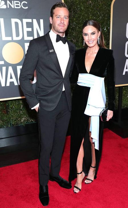 Quả Cầu Vàng 2018: Dàn sao Hollywood đồng loạt diện đồ đen trên thảm đỏ - Ảnh 16