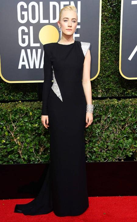 Quả Cầu Vàng 2018: Dàn sao Hollywood đồng loạt diện đồ đen trên thảm đỏ - Ảnh 12