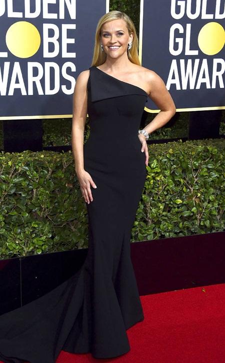 Quả Cầu Vàng 2018: Dàn sao Hollywood đồng loạt diện đồ đen trên thảm đỏ - Ảnh 9