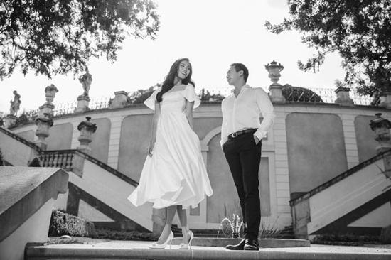 Lan Khuê chào tháng 10 với loạt ảnh cưới lãng mạn ở Paris - Ảnh 1