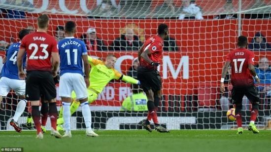 Paul Pogba chơi nổi bật, M.U thắng Everton ở Old Trafford - Ảnh 1
