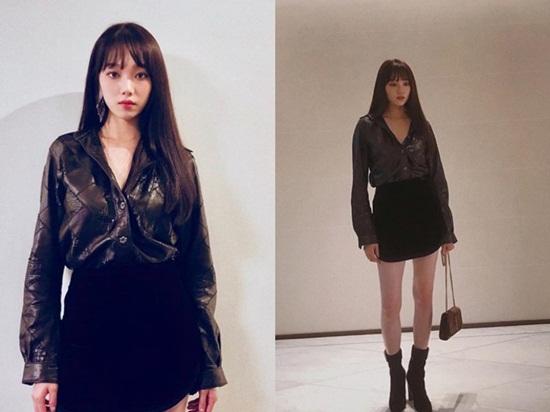 """16 lần sao Hàn """"khuynh đảo"""" tuần lễ thời trang châu Âu với vẻ ngoài đầy thu hút - Ảnh 13"""