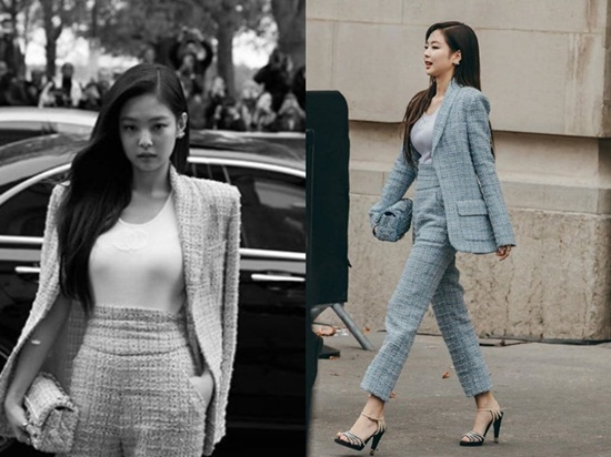 """16 lần sao Hàn """"khuynh đảo"""" tuần lễ thời trang châu Âu với vẻ ngoài đầy thu hút - Ảnh 8"""