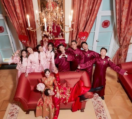 La Tấn - Đường Yên chính thức tiết lộ ảnh đám cưới phủ đầy hoa như cổ tích - Ảnh 8