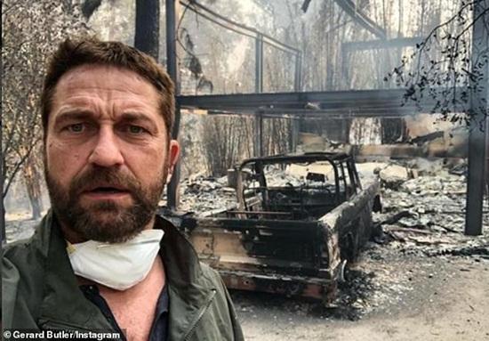 Loạt biệt thự triệu đô xa hoa của sao Hollywood hóa đống tro tàn sau vụ cháy ở bang California - Ảnh 1