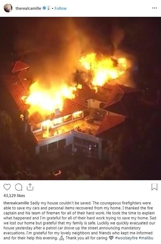 Loạt biệt thự triệu đô xa hoa của sao Hollywood hóa đống tro tàn sau vụ cháy ở bang California - Ảnh 6
