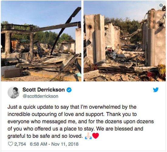 Loạt biệt thự triệu đô xa hoa của sao Hollywood hóa đống tro tàn sau vụ cháy ở bang California - Ảnh 7