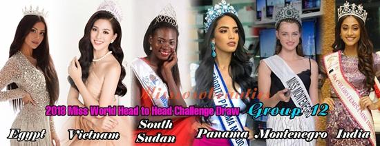 Đụng độ 5 ứng viên nặng ký, Tiểu Vy vẫn tự tin nắm tay đối thủ tại Miss World - Ảnh 1