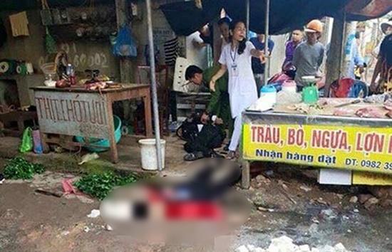 Công an Hải Dương thông tin chính thức vụ cô gái bán đậu bị bắn tử vong - Ảnh 1