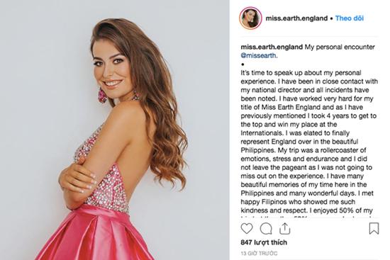 Thí sinh Hoa hậu Trái Đất 2018 liên tiếp tố bị quấy rối, gạ tình - Ảnh 2