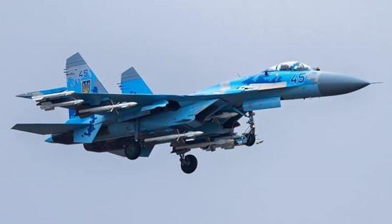 Tiêm kích Su-27 của Ukraine rơi, phi công thiệt mạng - Ảnh 1