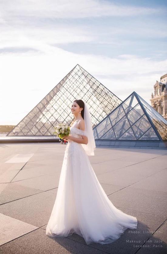 Á hậu Thanh Tú đẹp như công chúa trong bộ ảnh cưới giữa Paris hoa lệ - Ảnh 6