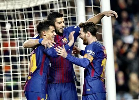 Kết quả vòng 25 La Liga: Real và Barca cùng đại thắng mãn nhãn - Ảnh 2
