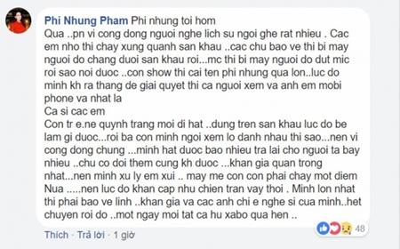 """Clip: Phi Nhung nhường hết tiền cát-xê cho khán giả """"ăn vạ"""" mất cây vàng - Ảnh 4"""