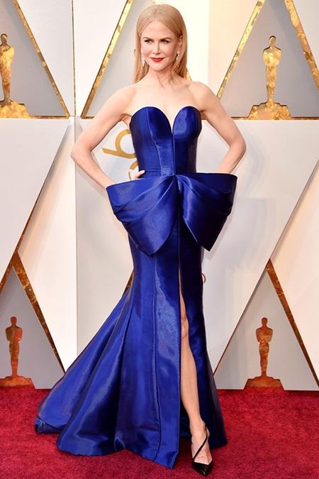 Thảm đỏ Oscar 2018: Dàn sao Hollywood lộng lẫy như nữ thần - Ảnh 3