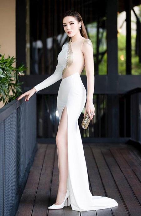 """Hoa hậu Kỳ Duyên lần đầu thừa nhận chuyện """"dao kéo"""" vòng một - Ảnh 2"""