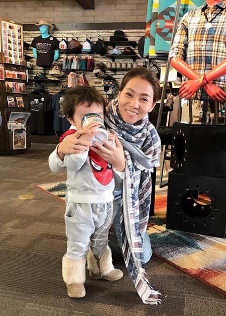 Ngỡ ngàng với diện mạo con trai Thu Minh sau 3 năm giấu kín - Ảnh 3