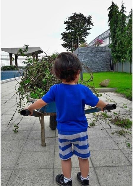 Ngỡ ngàng với diện mạo con trai Thu Minh sau 3 năm giấu kín - Ảnh 4