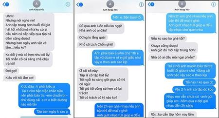 """Phạm Lịch tung tin nhắn bằng chứng, thêm một người tố Phạm Anh Khoa """"gạ tình"""" - Ảnh 1"""