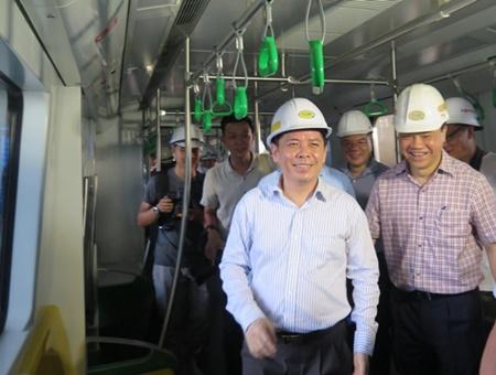Khai thác tuyến đường sắt Cát Linh - Hà Đông từ tháng 12/2018 - Ảnh 1