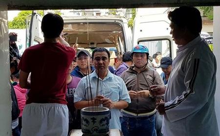Sao Việt tiếc thương, kêu gọi giúp đỡ gia đình hiệp sĩ Sài Gòn tử nạn khi truy bắt cướp - Ảnh 1