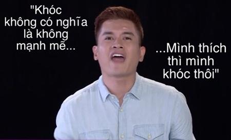 """Những phát ngôn xéo xắt """"gây bão"""" của Host The Face 2018 Nam Trung - Ảnh 6"""