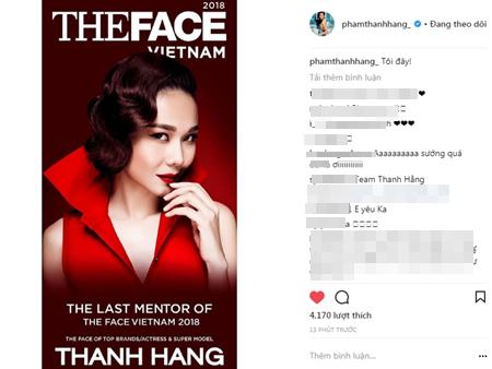 Thanh Hằng chính là vị HLV cuối cùng của The Face 2018 - Ảnh 1